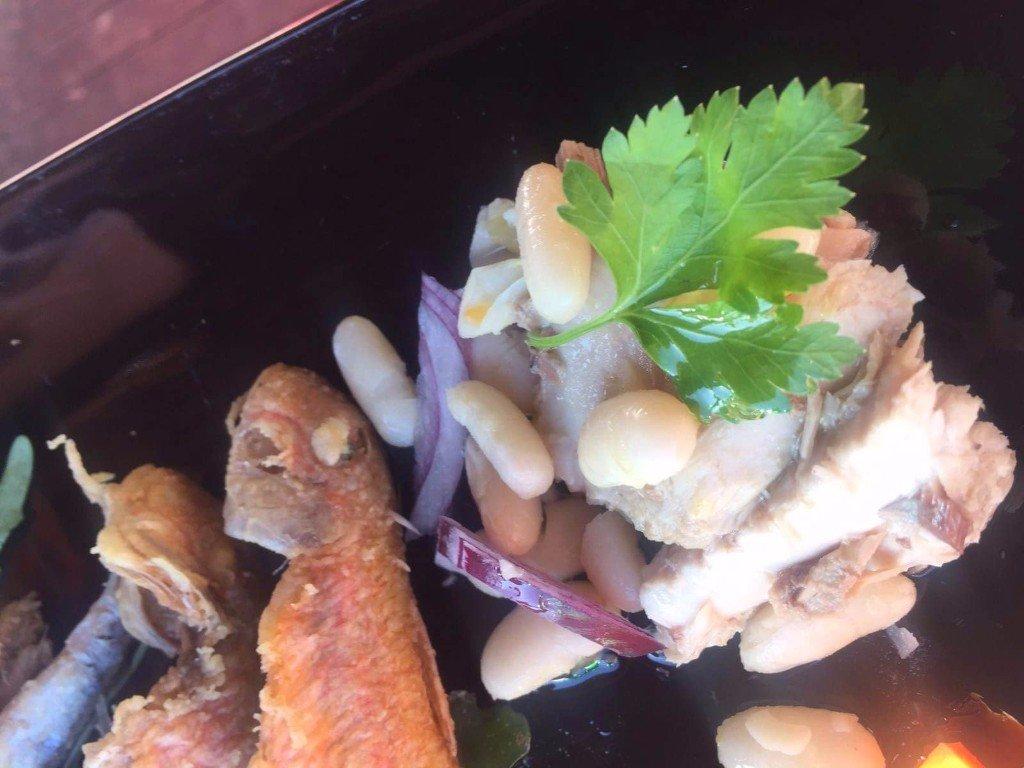 frittura di pesce con cipolle