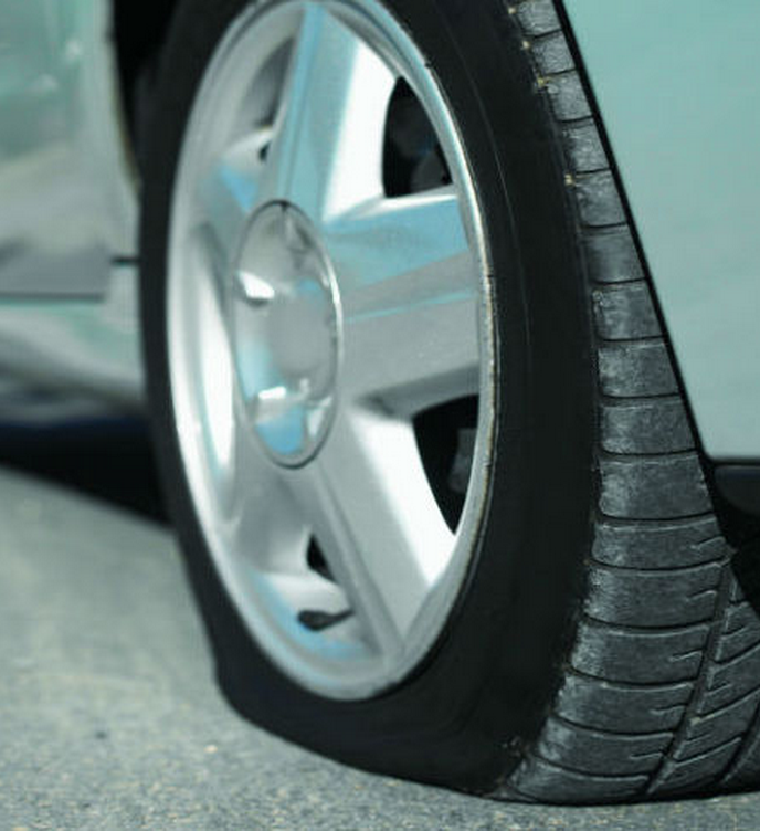 Flat Tire Change/Wheel Repair