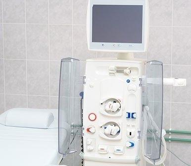 L'emodialisi è praticata con apparecchiature di alta qualità e materiale biocompatibile
