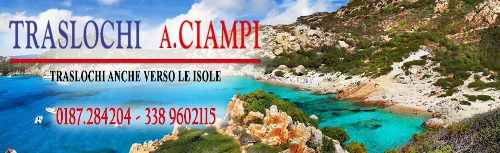 Traslochi A. Ciampi anche per le isole La Spezia