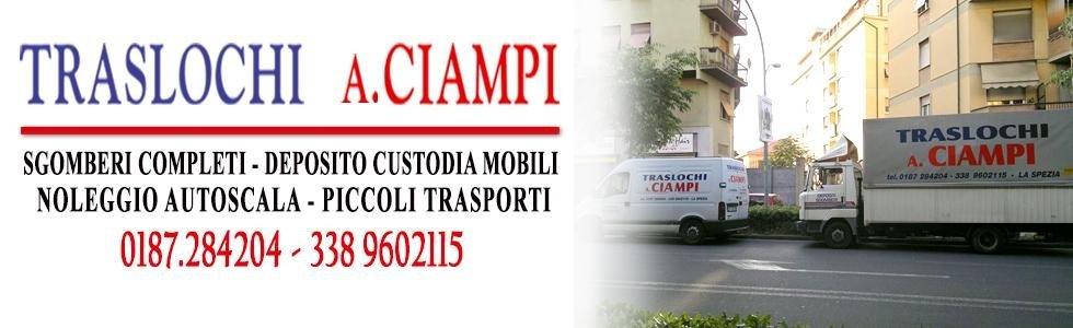 Traslochi A. Ciampi La Spezia  ed internazionali