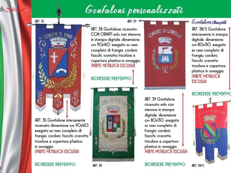 gonfaloni multicolore