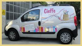 decorazione automezzi, adesivi automezzi, adesivi per auto, adesivi personalizzati, neon grafica rimini