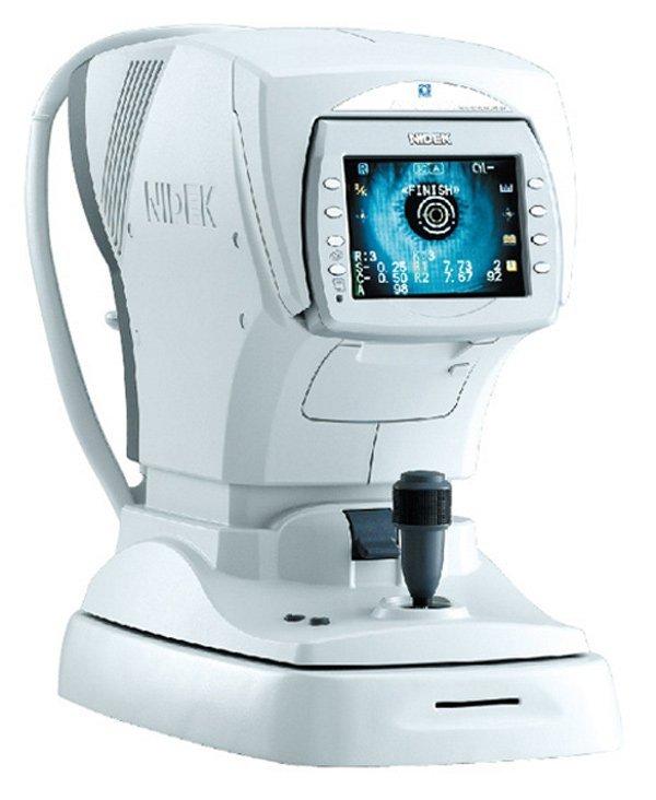 eye scanning machine