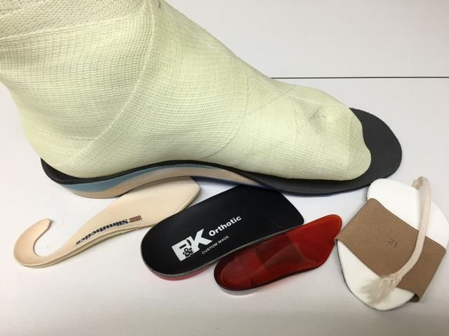 Research papers custom foot orthoses