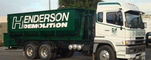 Henderson Demolition truck