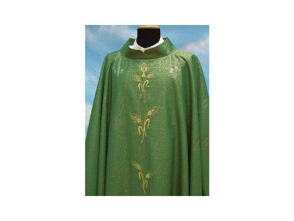 Rigoletto fabric with Green motifs
