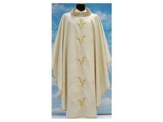 Rigoletto fabric with White motifs