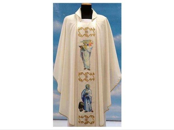 Evangelists model embroidered front
