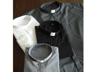 Camicie sacerdote cotone