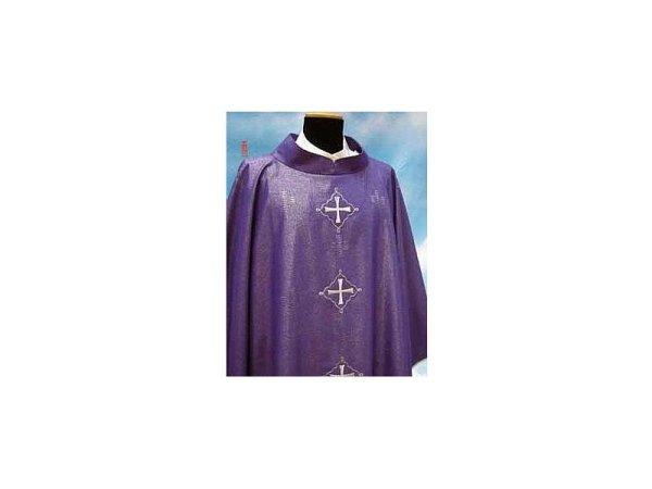 purple Rigoletto fabric
