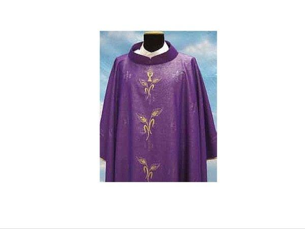 Rigoletto fabric with Purple motifs
