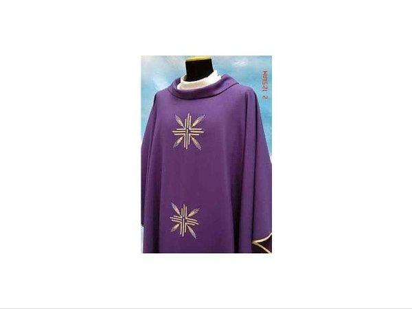 Tasmania fabric purple