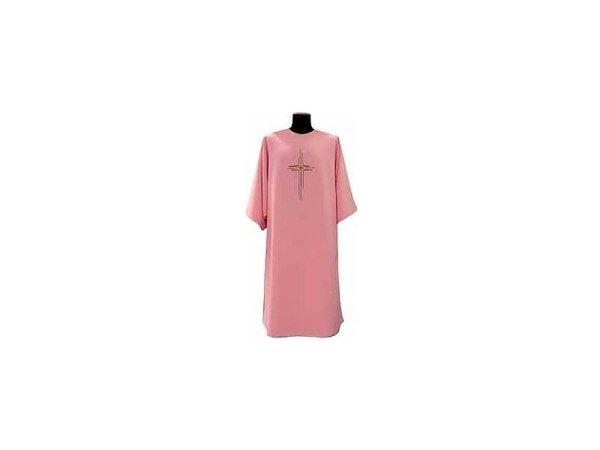dalmatica con collo piano rosa