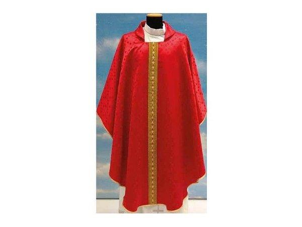 Eden fabric red