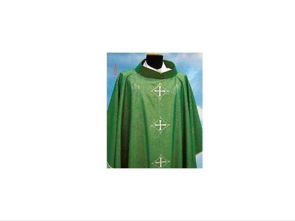 Green Rigoletto fabric