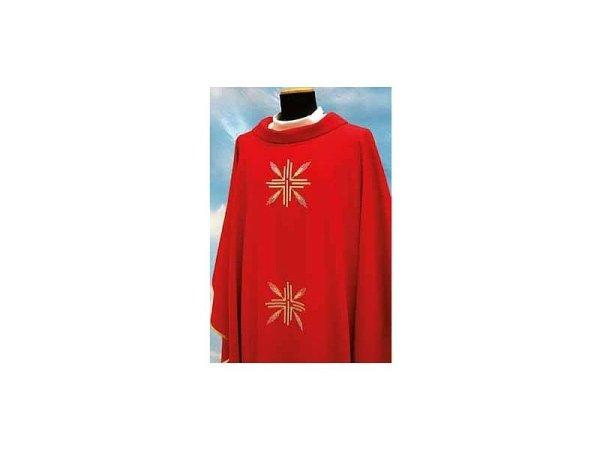Tasmania fabric red