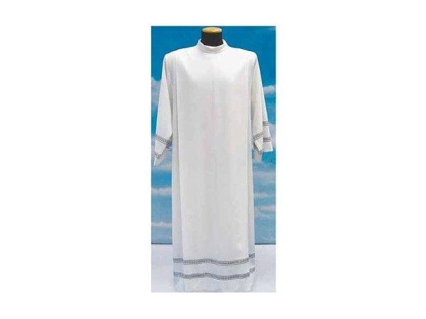 camici con decorazioni in misto lana