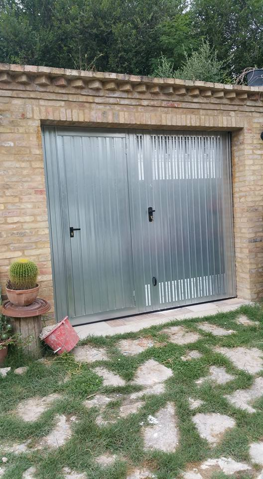 garage con porta