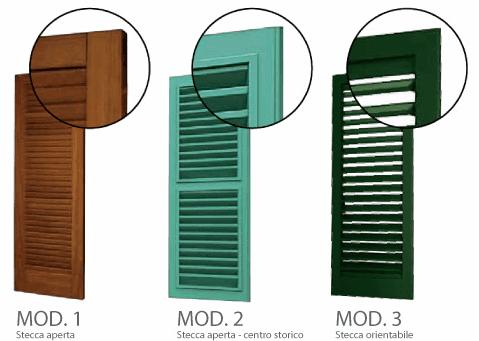 Imposte di legno a Macerata