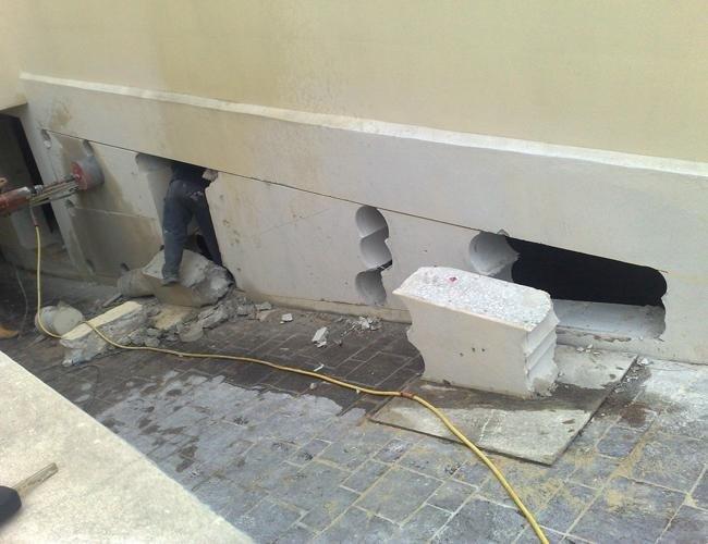 taglio murature