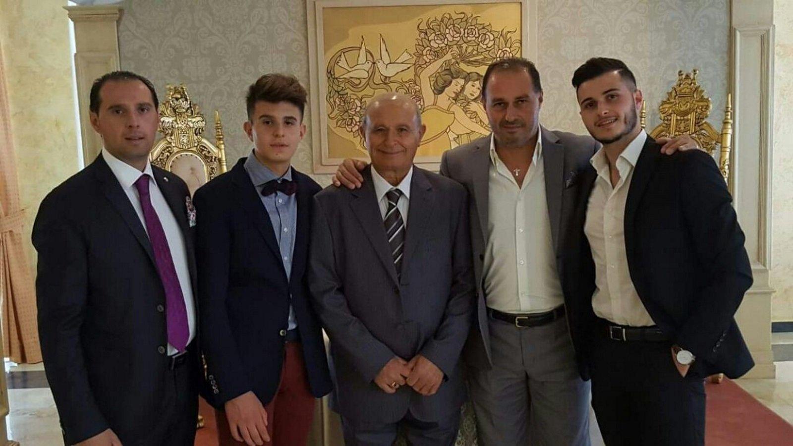 Gli uomini della famiglia Minardi