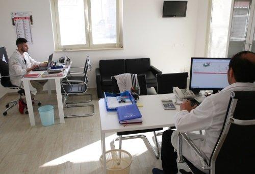 Ufficio interno dell'azienda Minardi
