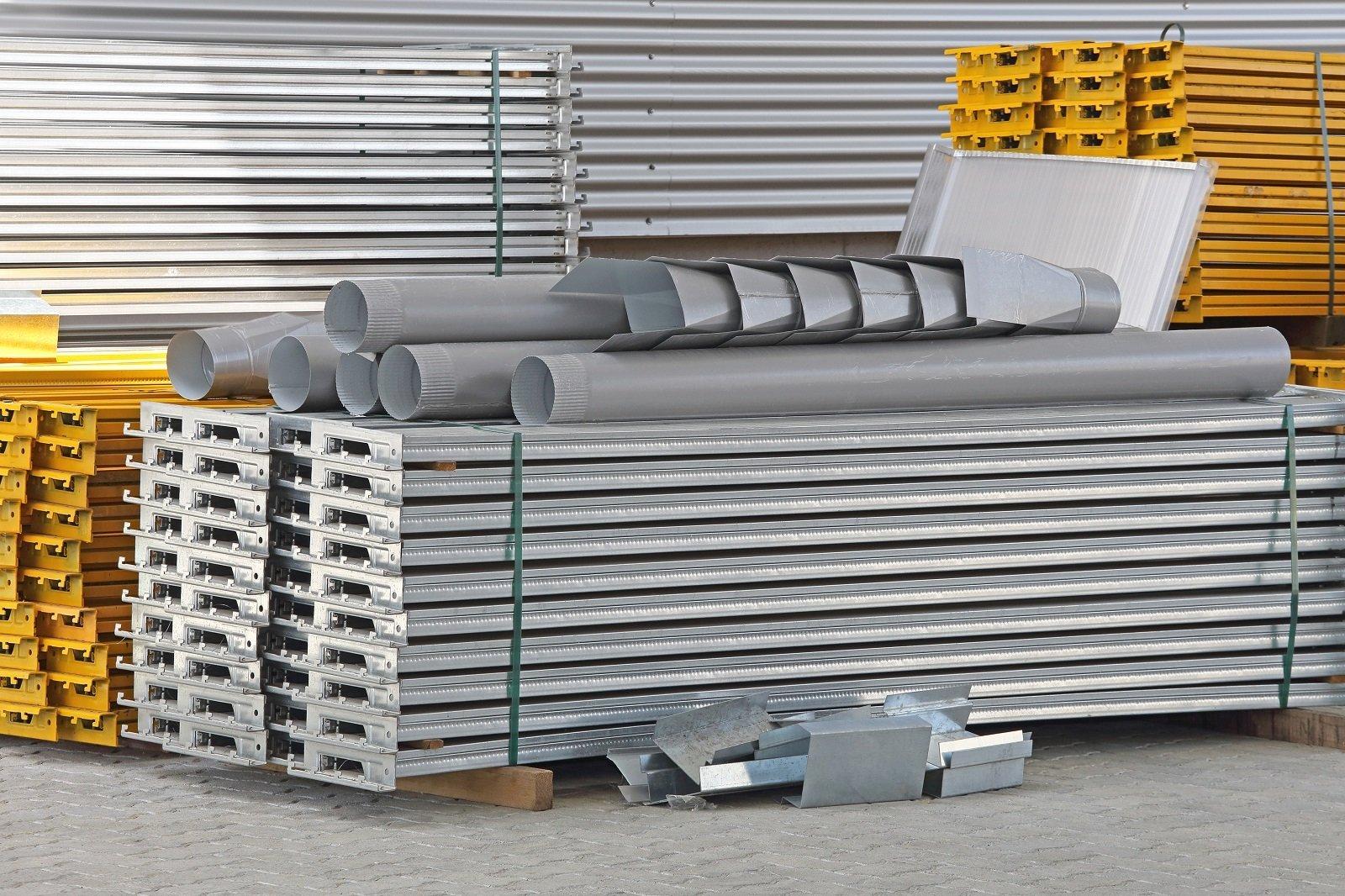 dei materiali di metallo per l'edilizia