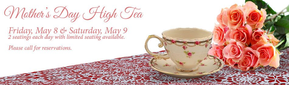 Let's Have Tea Mother's Day
