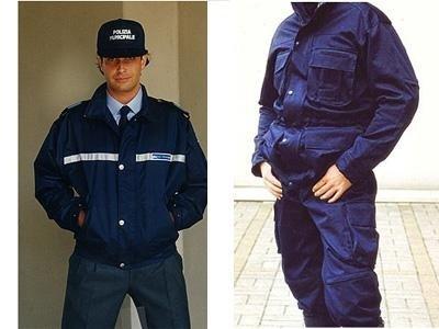 Giubbino polizia municipale