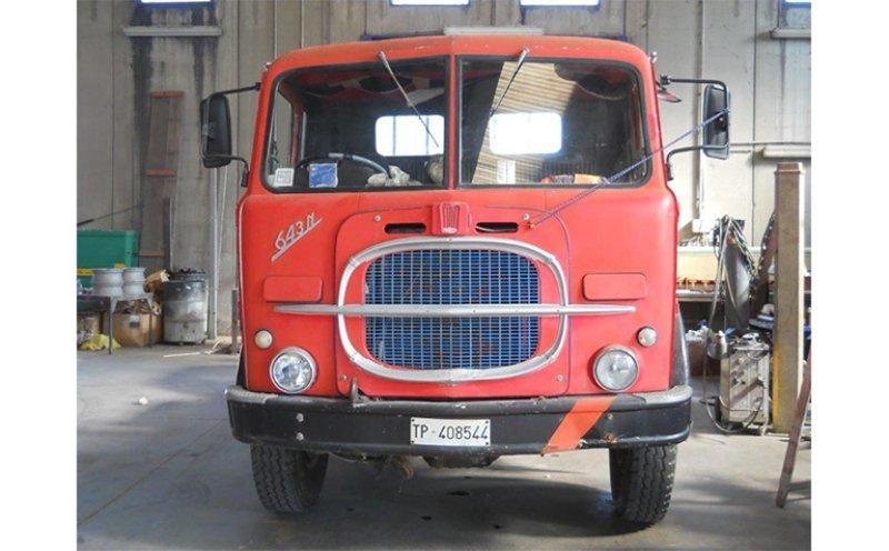 camion Fiat a carrozzeria