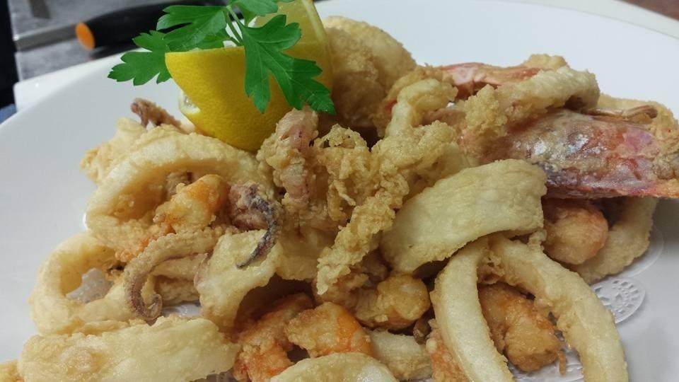 Il fritto misto di pesce