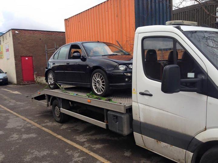 scrap cars manchester