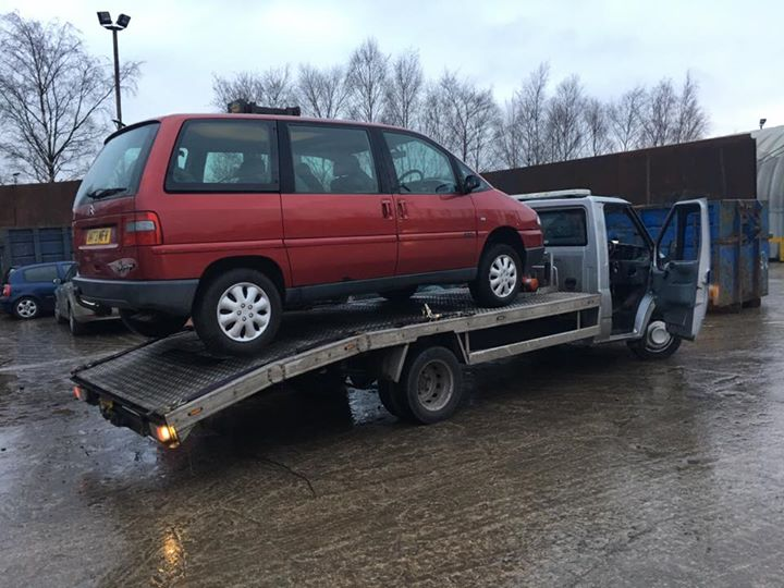 scrapping my car in salford