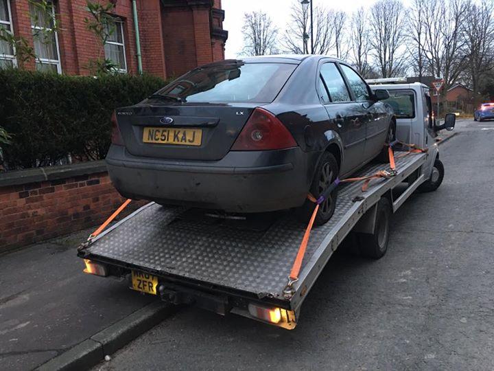 scrap my car wythenshawe manchester