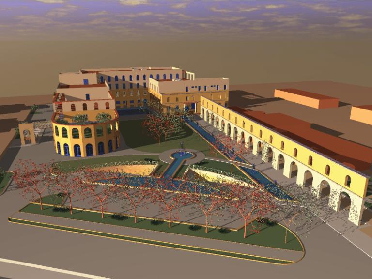 Progetto Palatini Terme di Salzano