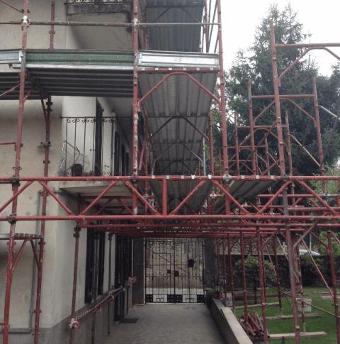 noleggio ponteggi per edilizia bergamo