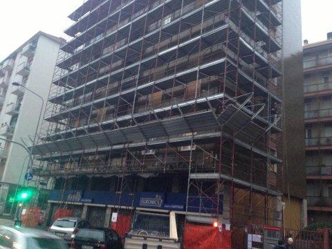 impalcature per ristrutturazioni edili bergamo