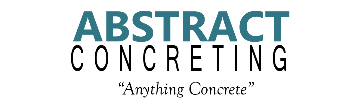 Abstract Concreting logo
