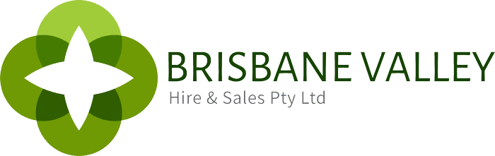 Brisbane Valley hire and sales logo