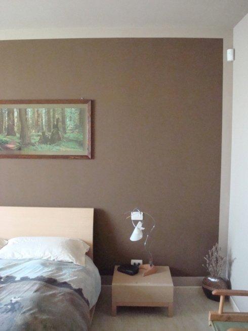 tinteggiatura parete camera da letto