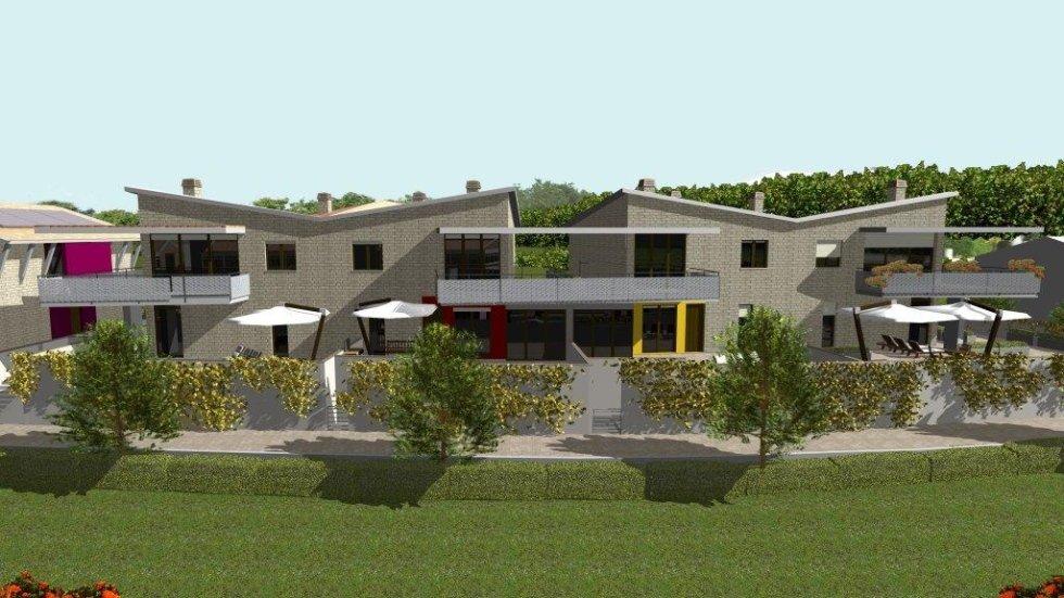 Edificio F4 in fase di progetto