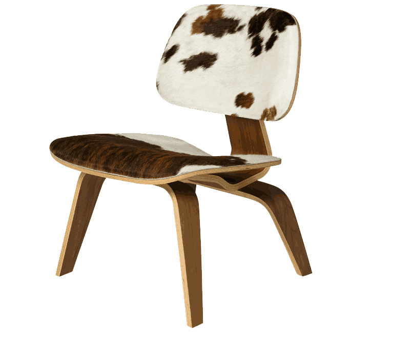 north coast upholsterers cow hide chair
