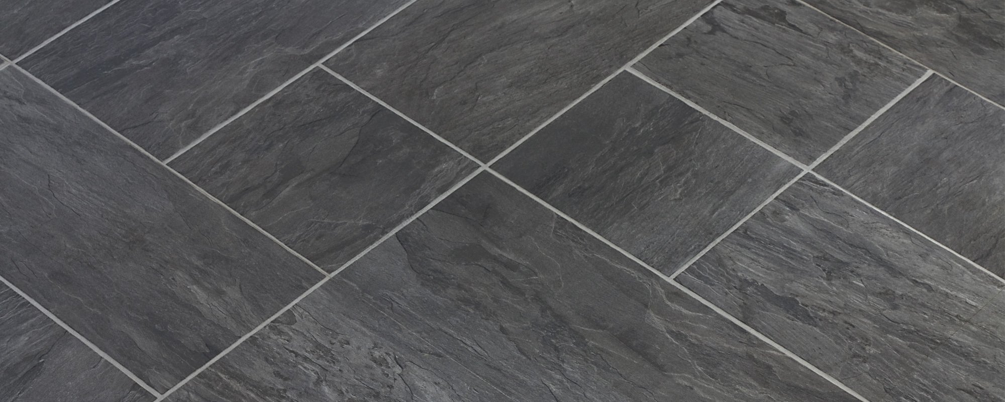 View of the flooring tiles