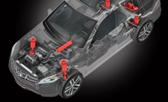 Dunlop Electronically Controlled Air Suspension