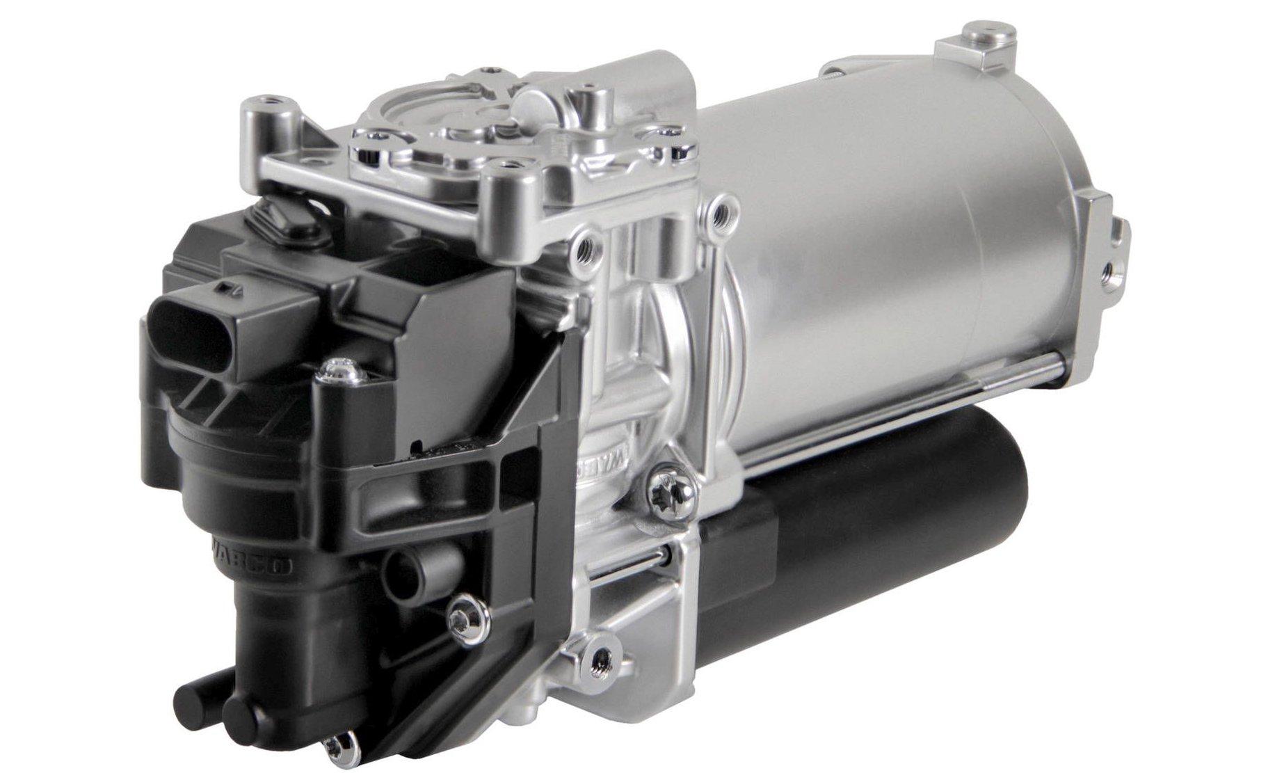 Motorhome air suspension by Dunlop