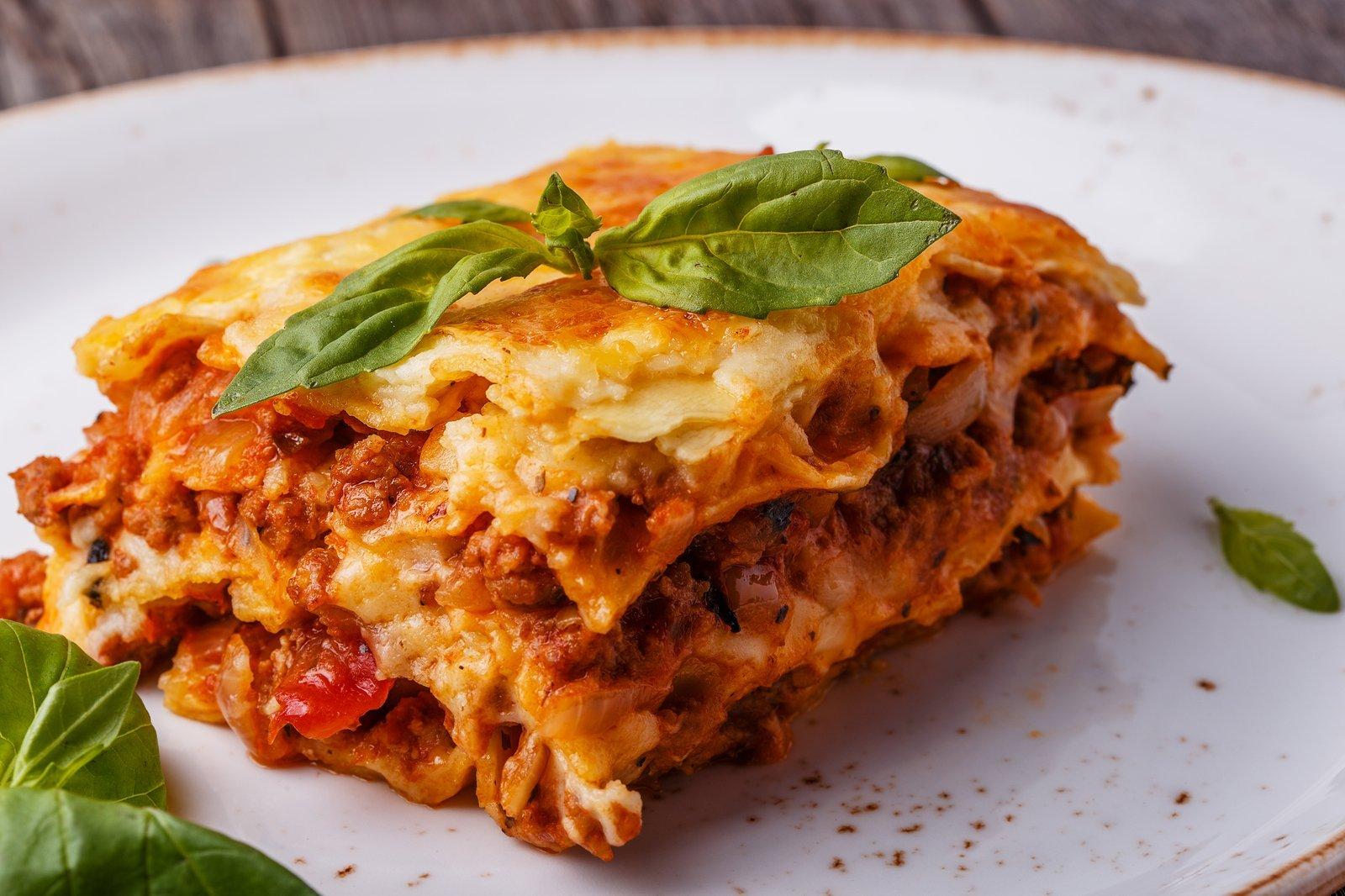 Mouth watering Lasagna