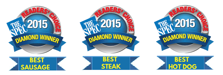 best sausage, best steak, best hot dog
