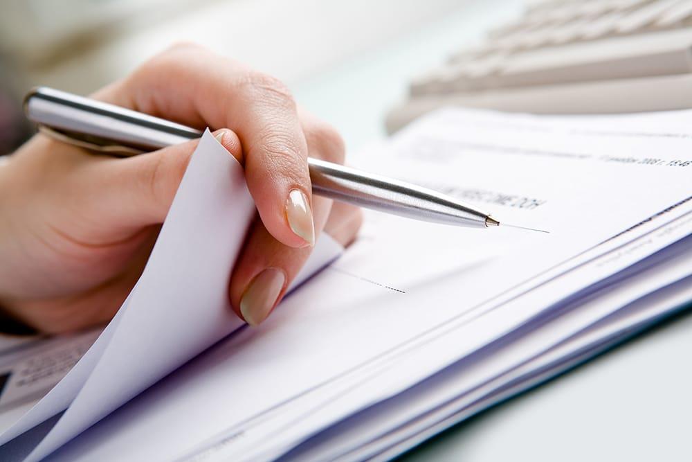 stesura documento contabile