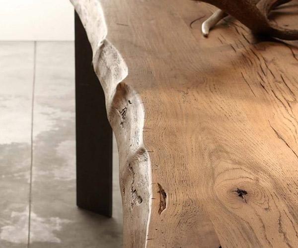 Tavoli in legno messello